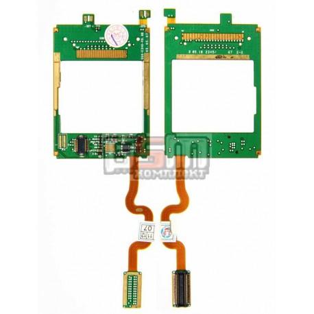 Шлейф для Samsung E340, межплатный, с компонентами