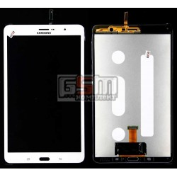 Дисплей для планшету Samsung T320 Galaxy Tab Pro 8.4, T321 Galaxy Tab Pro 8.4 3G, T325 Galaxy Tab Pro 8.4 LTE, (версія 3G), білий, з сенсорним екраном (дисплейний модуль)