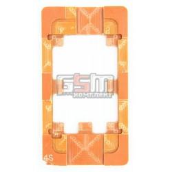 Форма для фиксации модуля при склеивании Scotle для iphone 4/4s