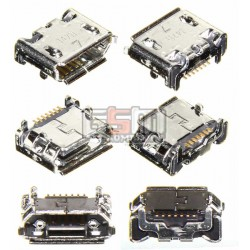 Коннектор зарядки для Samsung B3310, B7610, C3300, C5510, I5500 Galaxy 550, I9070 Galaxy S Advance, I9100 Galaxy S2, I9103 Galax