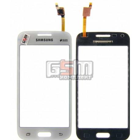 Тачскрин для Samsung G350 Galaxy Star Advance Duos, G350E Galaxy Star Advance Duos, G350H, белый, #BT432