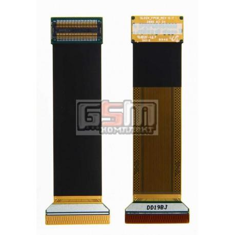 Шлейф для Samsung J620, L770, оригинал, межплатный, с компонентами, (GH41-02038A)