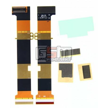 Шлейф для Samsung L760, L760V, L768, оригинал, межплатный, с компонентами