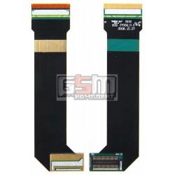 Шлейф для Samsung J700G, J700i, межплатный, с компонентами