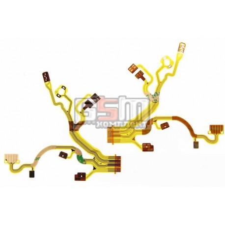 Шлейф для Sony DSC-W30, DSC-W35, DSC-W40, DSC-W50, DSC-W55, DSC-W70, объектива