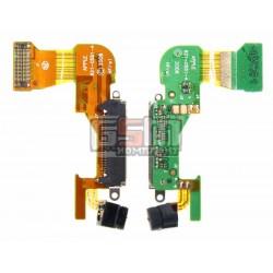 Шлейф для Apple iPhone 3G, черный, коннектора зарядки, с компонентами