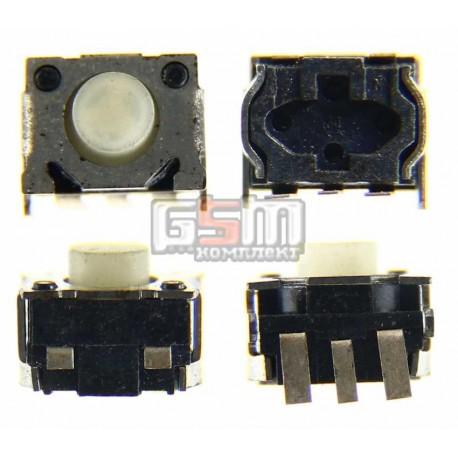 Кнопка универсальная 3х контактная (4,5мм*3,5мм*2,8мм)