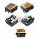 Коннектор зарядки для Blackberry 8100, 8110, 8120, 8130, 8300, 8310, 8320, 8330, 8700