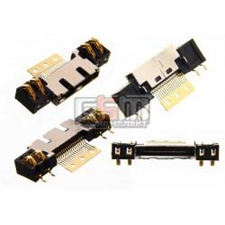 Коннектор зарядки для Samsung A100, A200, N500, N600, N620, R200, R210