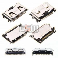 Коннектор зарядки для Samsung F110, F480, F490, F700, G600, I900, J700, J700G, J700i, L170, L760, L760V, L770, L810, M600, U800, U900, оригинал, #3710-002523