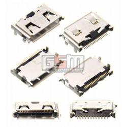 Коннектор зарядки для Samsung B100, B200, B300, C270, C3200, C3510, C450, D780, D880, D980, E1125, E1150, E210, F210, F250, F330