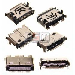 Коннектор зарядки для LG KC550, KE280, KE290, KE360, KE500, KE600, KE660, KE770, KE990, KF300, KF350, KF600, KG270, KG280, KG800