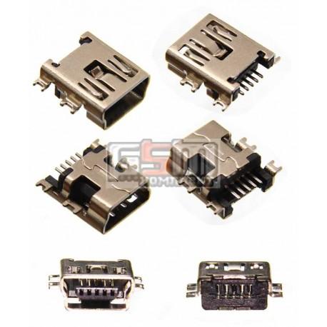 Коннектор зарядки для китайского планшета, , тип 2, mini USB