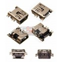Коннектор зарядки для планшета; мобильных телефонов; автонавигаторов GPS; цифровых фотоаппаратов; цифровых видеокамер, mini-USB тип-B, 5 pin, тип 2