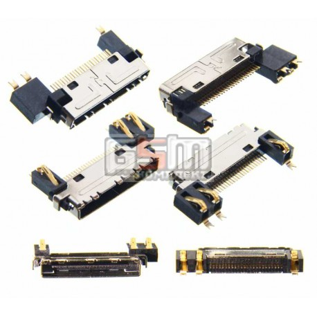 Коннектор зарядки для LG C1100, C1150, C1200, C1400, C2200, F2200, F2300, F2400, F2410, F3000, KG210, KG220, KG225, M6100, S3500