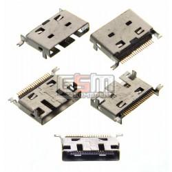 Коннектор зарядки для китайского телефона, универсальный, 20 pin