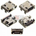 Коннектор зарядки для Samsung C3592 Duos, E1272 Duos, E2202, I739 Galaxy Trend II, S5280, S5282, S6810 Galaxy Fame, S7262 Galaxy Star Plus Duos, S7710