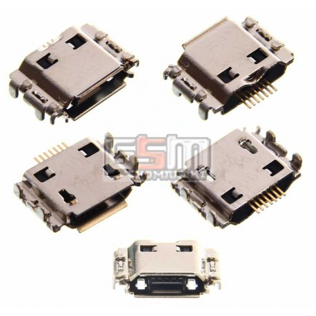 Коннектор зарядки для Samsung I8910 Omnia HD, I9000 Galaxy S, I9001 Galaxy S Plus, I9003 Galaxy SL, S5260, S5350 Shark, S5660, S