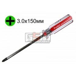 Отвертка крестовая ProsKit 89122B, PH3, 150 мм