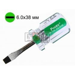 Отвертка шлицевая Pro'sKit 89120A, SL 6 мм, 40 мм