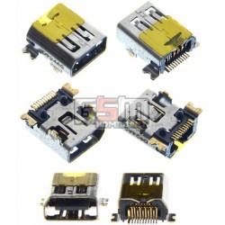 Коннектор зарядки для HTC T3320 Touch 2, T3333 Touch 2 Mega
