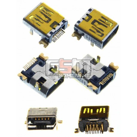 Коннектор зарядки для Dopod P860; HTC P3300, P3650 Touch Cruise, Polaris 100, Polaris P33300, T8282 Touch HD