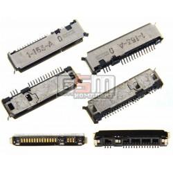 Коннектор зарядки для Motorola E1, E1000, E398, T280, T720, V300, V400, V500, V547, V60, V600, V620, V635, V66, V980