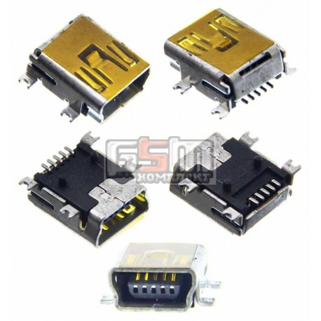 Коннектор зарядки для Motorola A1200, E380, E680, E770, K1, K2, V360, V3x, V3xx, W220, Z3, Z6