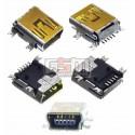 Конектор зарядки для Motorola A1200, E380, E680, E770, K1, K2, V360, V3x, V3xx, W220, Z3, Z6, GPS, 5 pin, mini-USB тип-B