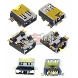 Коннектор зарядки для HTC P3400, P3470, P3600, P4550, S620, TYTN