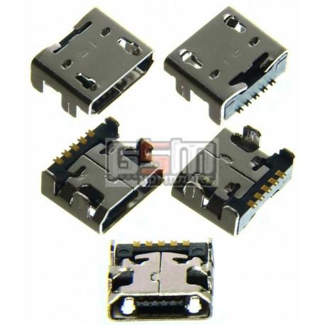 Коннектор зарядки для LG E162, E400 Optimus L3, E610 Optimus L5, P700 Optimus L7, P705 Optimus L7, P880 Optimus 4X HD