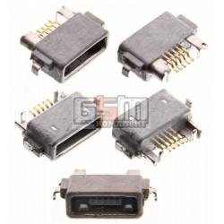 Коннектор зарядки для Sony Ericsson ST18i, WT18, WT19; Sony C6602 L36h Xperia Z, C6603 L36i Xperia Z, LT25i Xperia V, LT26W Xperia acro S, ST25i Xperia U