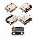 Коннектор зарядки для LG BL20, E900 Optimus 7, GD510, GS290, GS500, GT505, GT540, GW520, P500, P970 Optimus Black