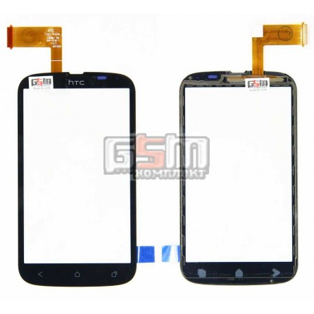 Тачскрин для HTC T328w Desire V, черный