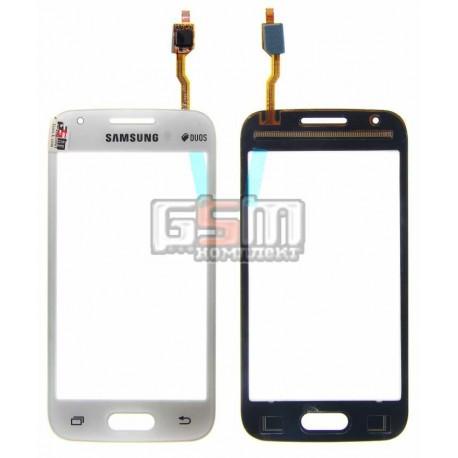 Тачскрин для Samsung G313HN Galaxy Ace 4, G313HU Galaxy Ace 4 Duos, белый