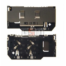 Коннектор SIM-карты для Sony ST27i Xperia Go