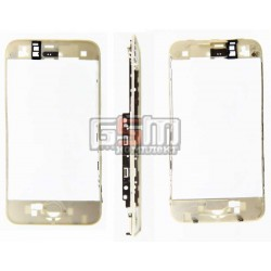 Рамка крепления тачскрина для Apple iPhone 3G, iPhone 3GS, белая
