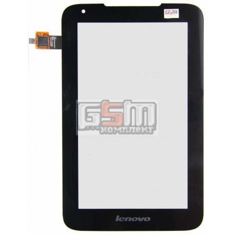 Тачскрин для планшета Lenovo IdeaTab A1000L, черный, #NTP070CM352001/NAS_207011100010