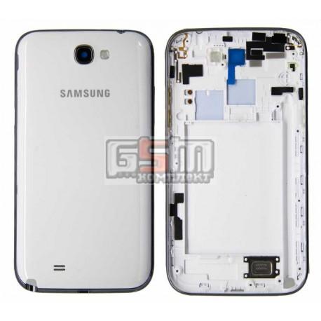 Корпус для Samsung N7100 Note 2, белый