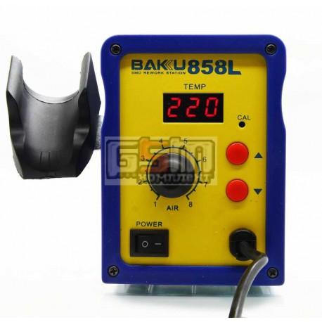 Термовоздушная паяльная станция Baku BK858L фен с цифровым блоком регулеровки