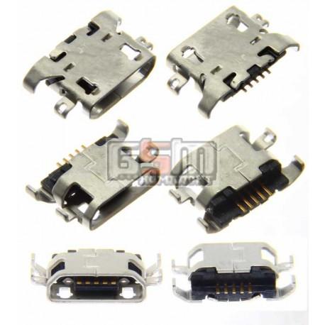 Коннектор зарядки для Lenovo A300, A328, A360, A369i, A390,A510, A516, A560, A589, A630, A660, A670, A706, A830, A850, P780, S65