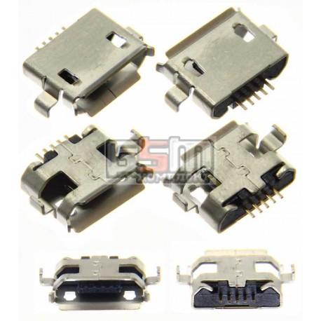 Коннектор зарядки Micro-USB тип 4