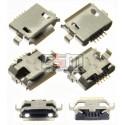Конектор зарядки Micro-USB тип 4