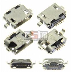Коннектор зарядки Micro-USB тип 5
