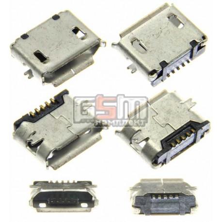 Коннектор зарядки Micro-USB тип 6