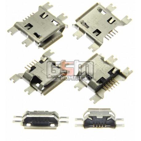 Коннектор зарядки Micro-USB тип 7