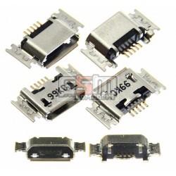 Коннектор зарядки micro usb тип 19