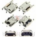Коннектор зарядки для Sony C1904 Xperia M, C1905 Xperia M, C2004 Xperia M Dual, C2005 Xperia M Dual, 5 pin, micro-USB тип-B