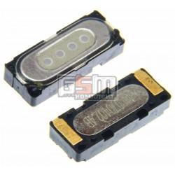 Динамик для LG C2500, G1800; Motorola K1, U6, V3, V3i, V3x, V3xx, V6, V80, W205, Z3, Z6; Sony Ericsson J10i2 Elm