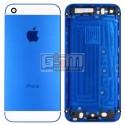 Корпус для Apple iPhone 5S, синий